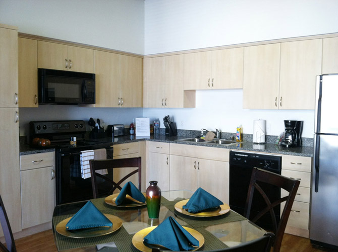 Downtown san diego temporary housing rental key suites - Loft industriel san diego californie ...